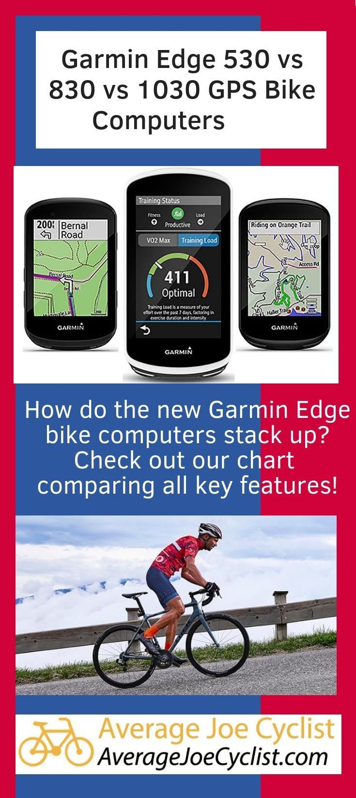 Garmin Edge 530 Vs 830 Vs 1030 Garmin Edge Garmin Cycling Workout