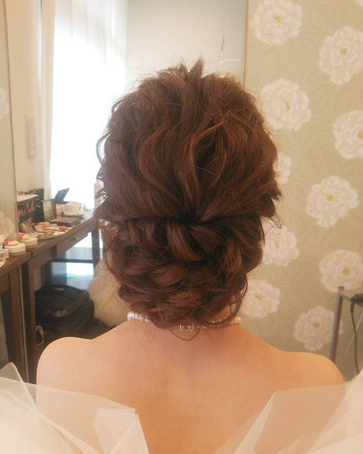 「#ヘアアレンジ#ヘアセット#ヘアスタイル #ヘア#編み込み#結婚式#花嫁準備#花嫁髪型 #挙式#ブライダルヘア#ウェディングドレス #weddingdress #wedding #bridal#hair#hairarrange#プレ花嫁#ルーズ」