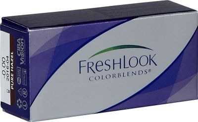 FreshLook Colorblends  Les FreshLook Colorblends sont des lentilles de contact révolutionnaires de Ciba Vision qui vous permettent de troquer la couleur de vos yeux pour une autre tout en assurant le confort de..  EUR 15.98  Meer informatie