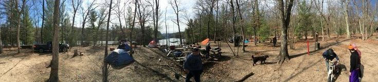 My favorite campsite in all of Michigan (Manistee National Forest Owasippe Scout Reservation Site 5) March 2016 http://ift.tt/1SYUgnR