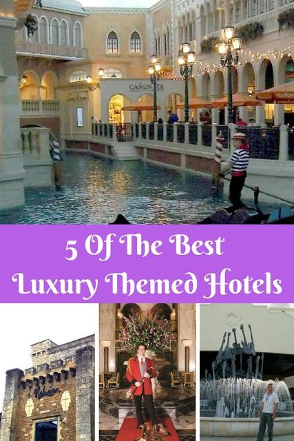 5 Of The Best Themed Luxury Hotels | The Diary Of A Jewellery Lover These #luxury #themed #hotels are beautiful and unusual. You can stay in a #prison and one was an inspiration for a #movie. You can even see a complete  reconstruction of #StMarksSquare #Venice in one!