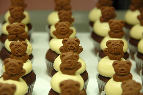 teddybear cupcakesTeddy Cupcakes, Teddy Graham, Teddy Bears, Bears Cupcakes, Food Envy, Fancy Food, Minis Cupcakes, Cupcakes Rosa-Choqu, Birthday Ideas