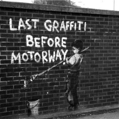 Banksy - Last Graffiti Art Print