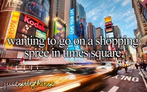 I've done it;) I just got Bach from Times Square !! Look on my board awesome places to go to see pictures I took there
