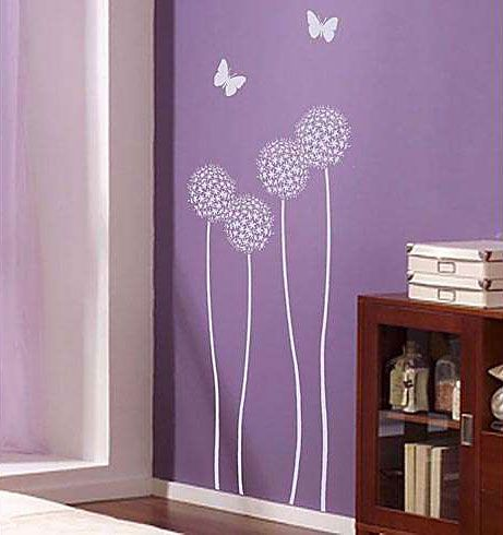 Floral Stencils For Painting | Flower stencil, large flower stencils, reusable stencils for DIY wall ...