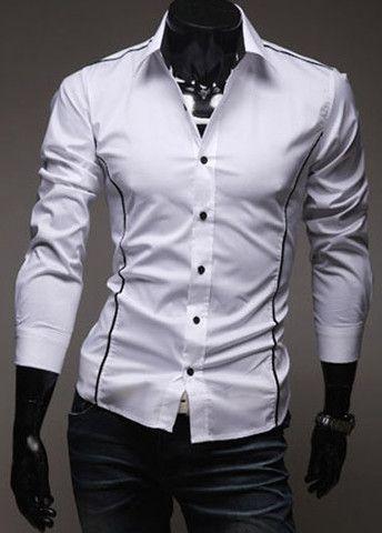 Turndown Collar Button Fly Shirts – teeteecee - fashion in style
