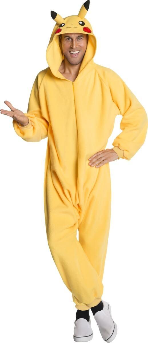 Disfraz Pikachu Onesie para hombre