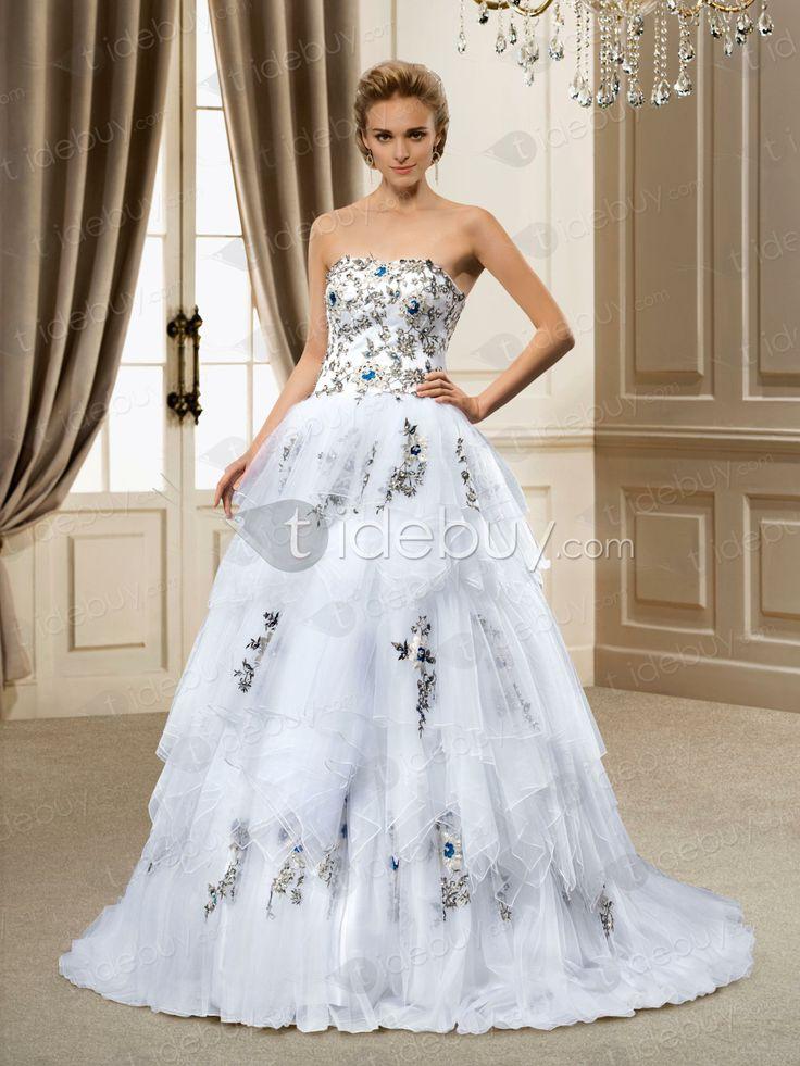 Ladylike, Wedding Dresses , $247.49, Ladylike Strapless Appliques Ball Gown Wedding Dress