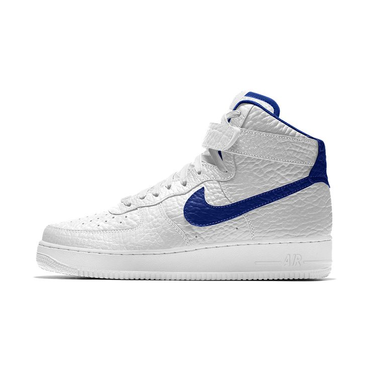 Nike Air Force 1 High Premium iD (Golden State Warriors) Men's Shoe Size 12.5 (White)