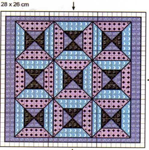 88 best Cross Stitch -- Quilt Blocks images on Pinterest | Punto ... : cross stitch quilt block patterns - Adamdwight.com