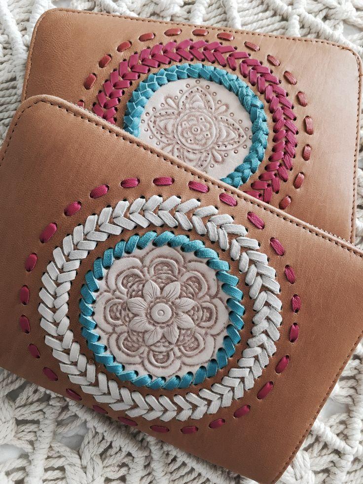 Boho Leather Wallet www.oceannomadaustralia.com.au #boholuxe