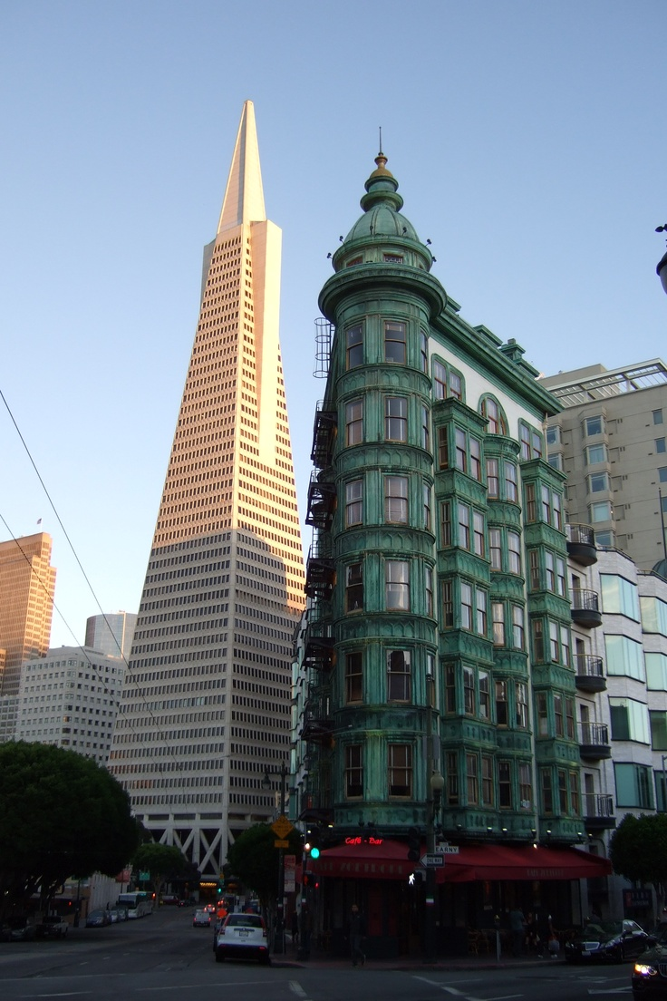 Transamerica Pyramid and Sentinel Building