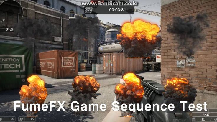 Unreal Engine Game VFX Reel - Sudden Attack 2