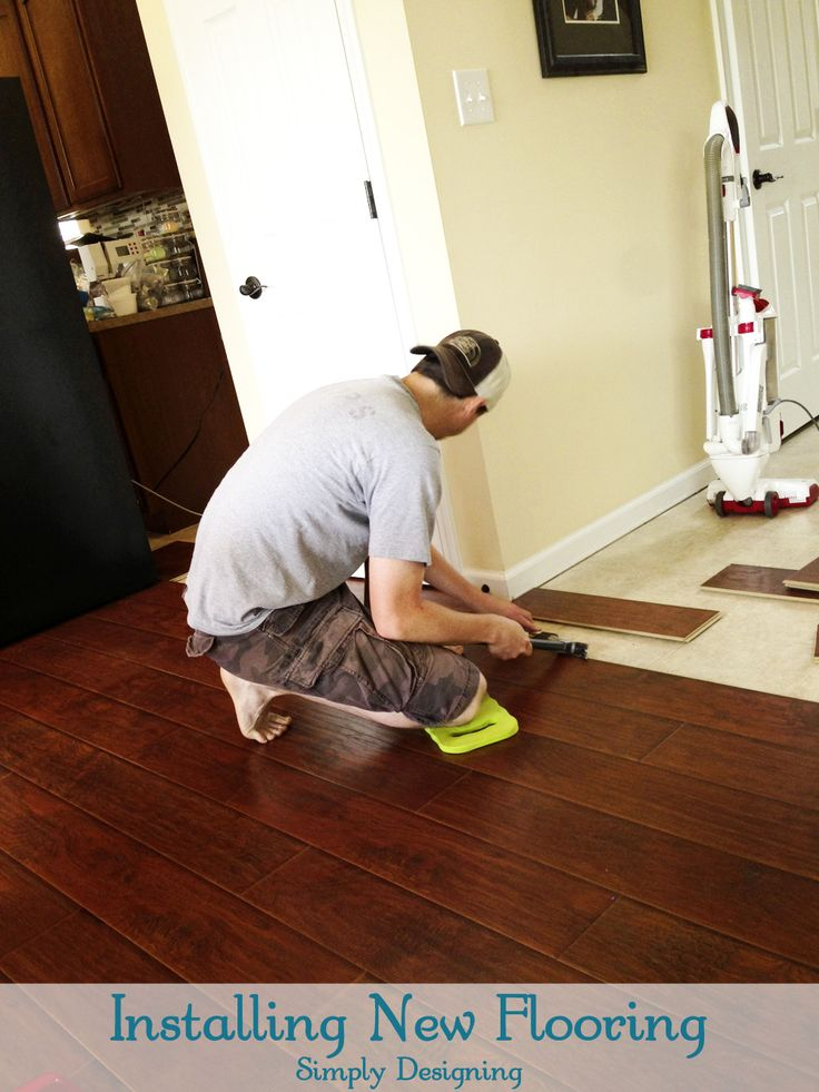 How to Install Floating Laminate Wood Flooring {Part 2}: The Installation - Best 25+ Installing Laminate Wood Flooring Ideas On Pinterest