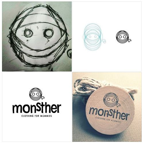 monstHer logo process