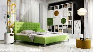Łóżko tapicerowane Madison New Design Fabryka Sypialni