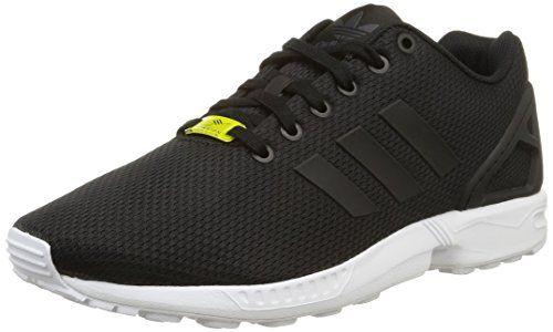 adidas Originals ZX Flux, Herren Sneakers, Schwarz (Core Black/Core Black/White), 43 1/3 EU (9 Herren UK) - http://on-line-kaufen.de/adidas-originals/43-1-3-eu-adidas-zx-flux-unisex-erwachsene