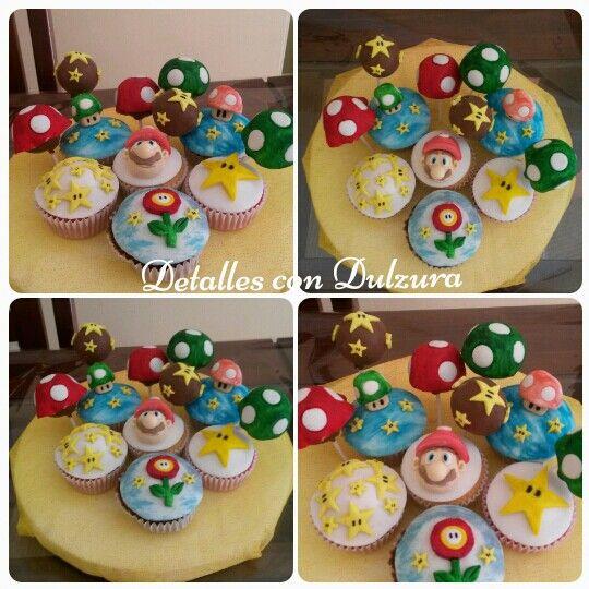 Cupcakes and popcakes Mario Bros