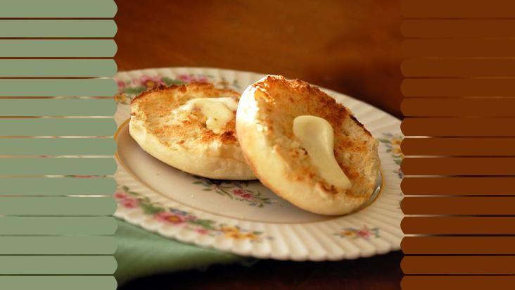 Muffin inglês é perfeito para o seu café da manhã