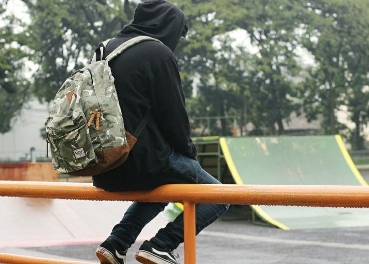 "SNIFFsupply co Backpack camo ""INFERNO"""