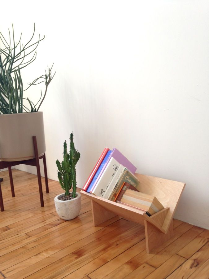 The SSB-1 bookshelf by Erik Heywood for BOOK/SHOP would be great in kids room