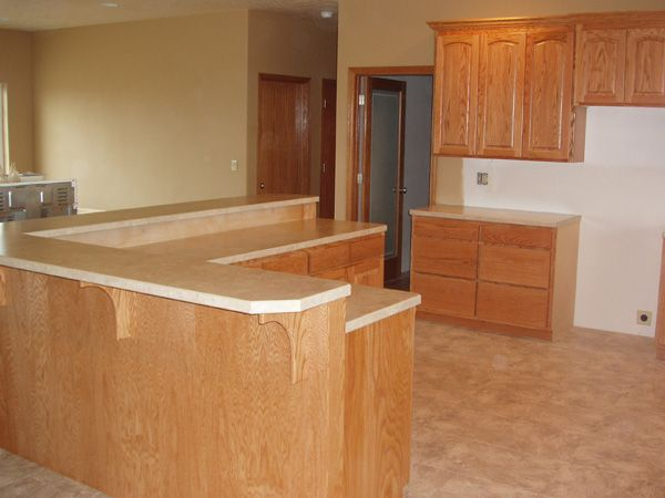 how to build an lshape kitchen island ehowcom - L Shaped Kitchen Designs