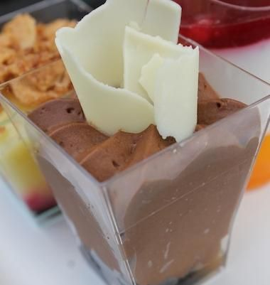 Dark Chocolate Mousse with Chili and Salted Caramel Recipe served at Food and Wine Festival  in EPCOT at Disney World