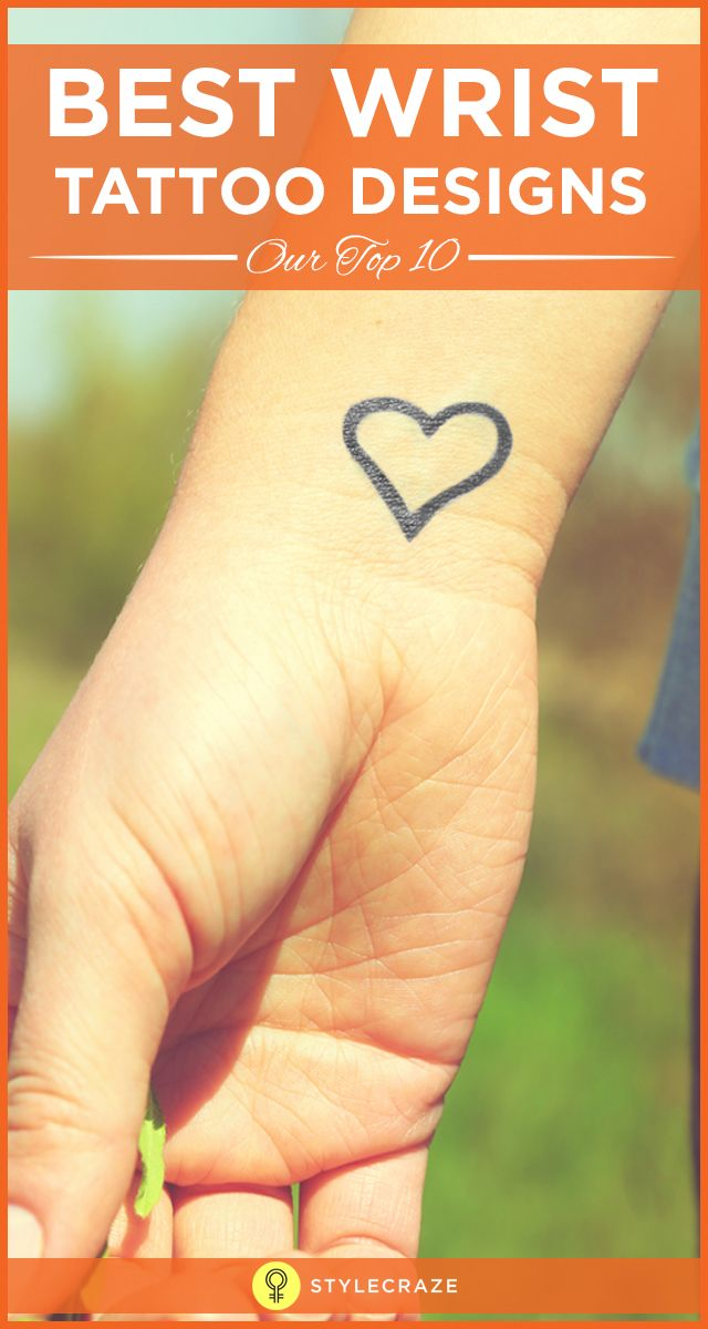 Wrist tattoos have become common with people who like to go for small tattoos. The best advantage is these can be hidden very easily and thus are very safe for work. This article gives you some of the most popular wrist tattoos designs.