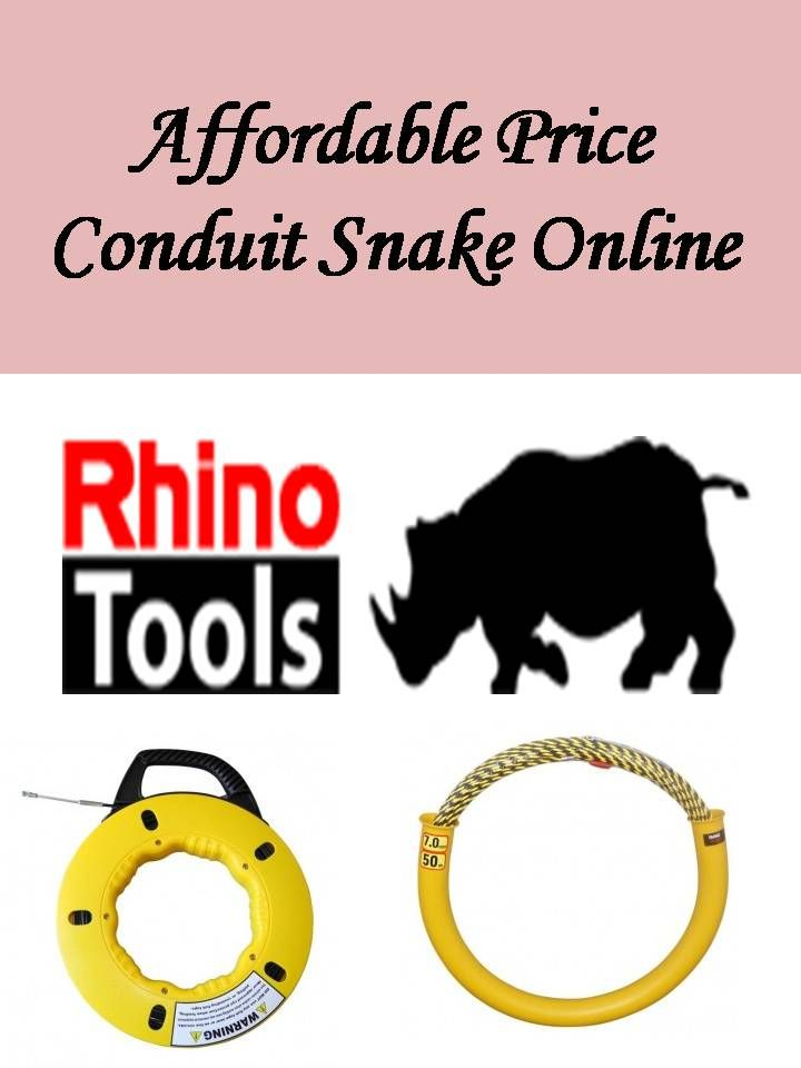 We provide best quality conduit Snake and tools at best price. For Affordable Price Conduit Snake Online, contact us today or Check link for more details: https://rhinotools.com.au/product-category/cable-snakes/
