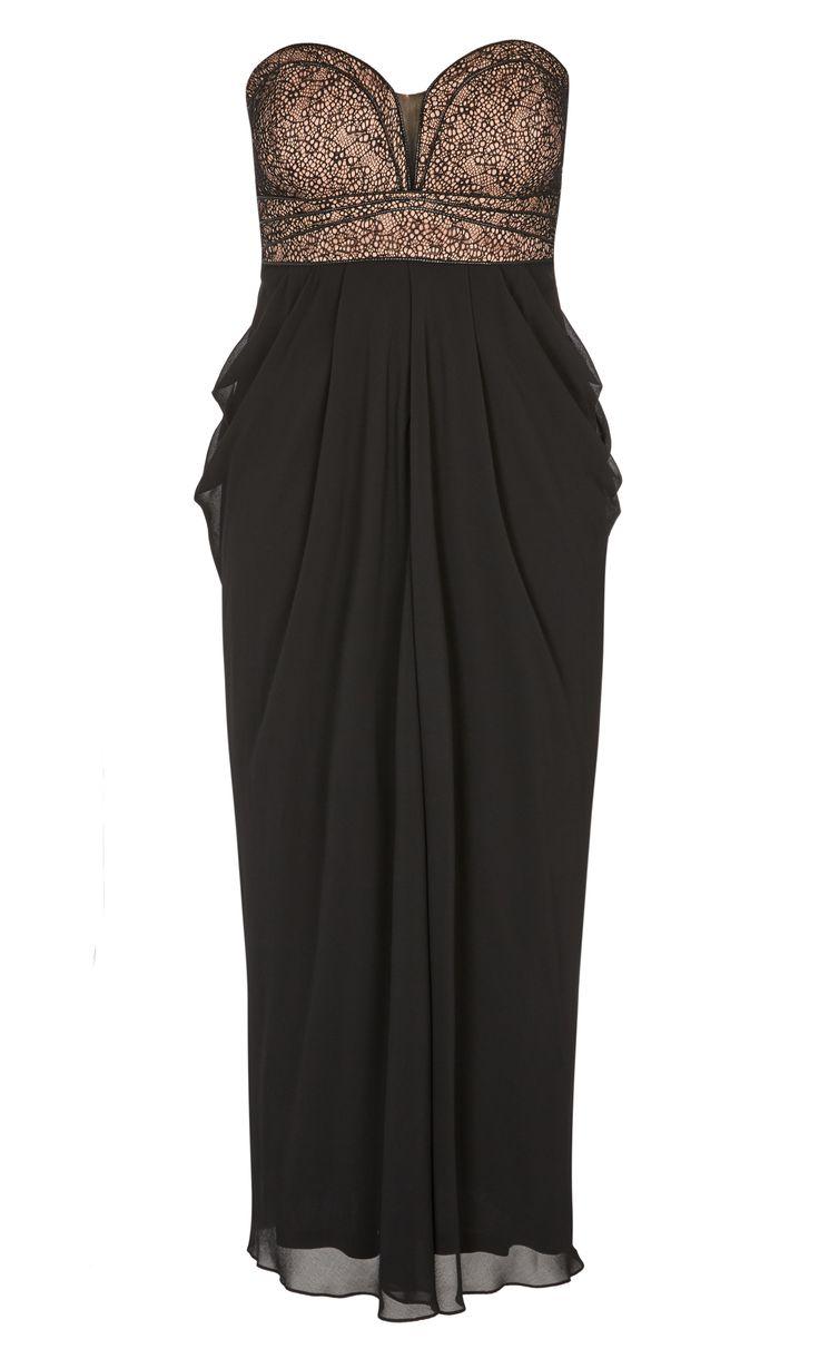 City Chic - MOTOWN MAXI DRESS - Women's Plus Size Fashion