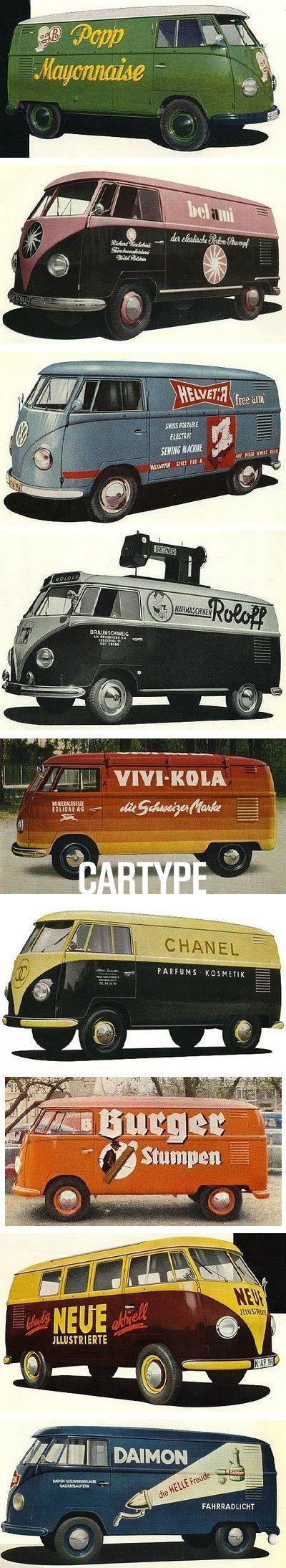 Blog de tomtom :Les gens d'en face ont surement une vie passionnante., CARTYPE : la nostalgie du combi/bus VW