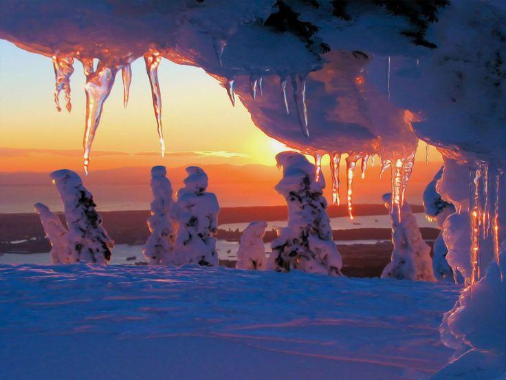 28 best images about snow landscapes on pinterest for Sfondi invernali per desktop gratis