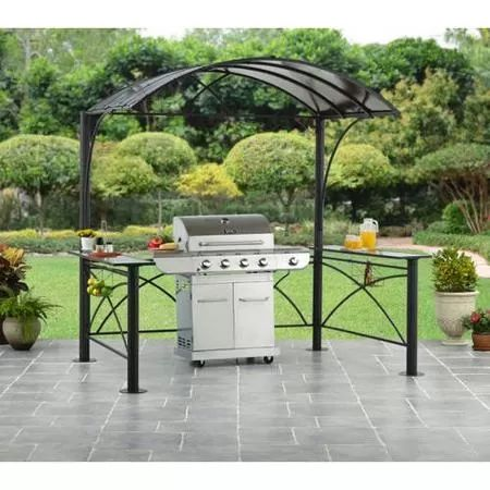 Better Homes and Gardens Archfield Hardtop Grill Gazebo 5x7. $300