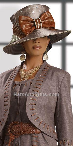 Donna Vinci Couture Church Hat H2058