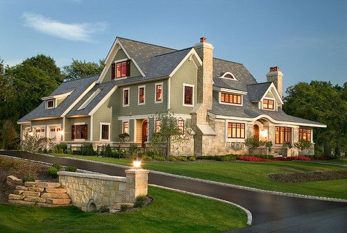What a dream house! I want to see inside! Visbeen Associates in Grand Rapids, MI. #FindingYourPlace