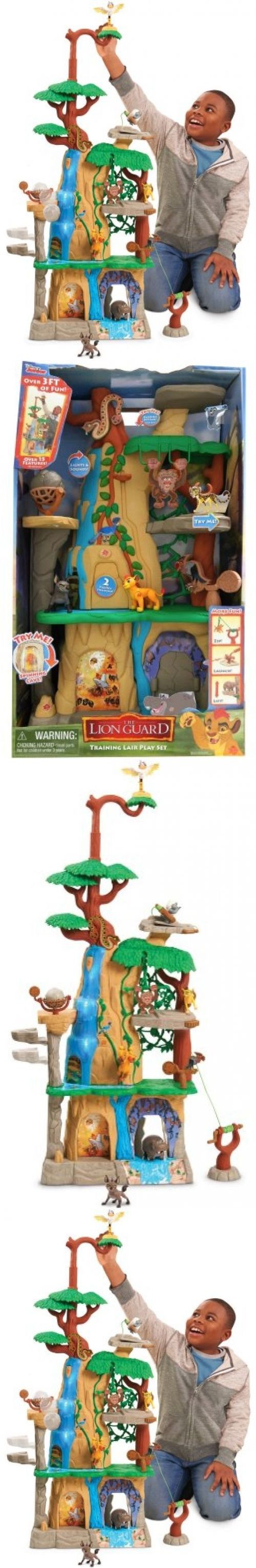 Feeding Sets 117386: Lion Guard Training Lair Playset Disney Junior Boy Or Girl Fun Interactive Toy -> BUY IT NOW ONLY: $54.95 on eBay!