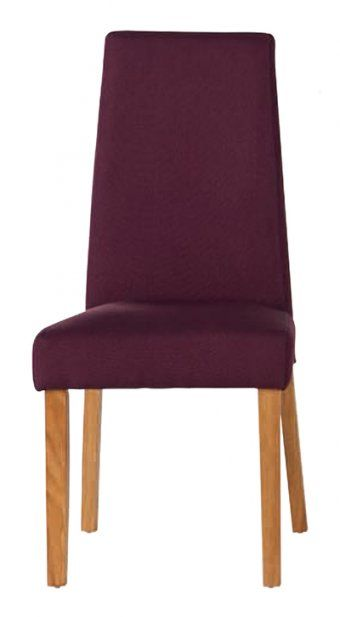 Hanbury Purple Fabric Dining Chair