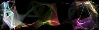 Glazing ribbon screensaver effect in HTML5 canvas