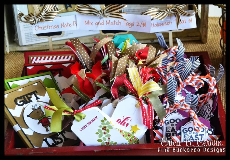 Pink Buckaroo Designs: Fall Craft Fairs. Lots of ideas for paper crafting sales.