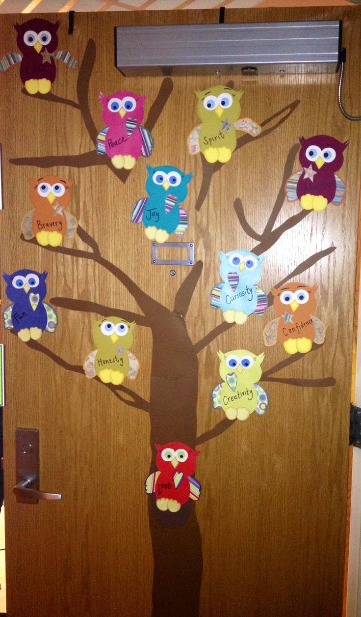 Best Trinitys Owl Bedroom Decor Ideas Images On Pinterest - Decoration dorm door decorating ideas with pink walls dorms dorm door