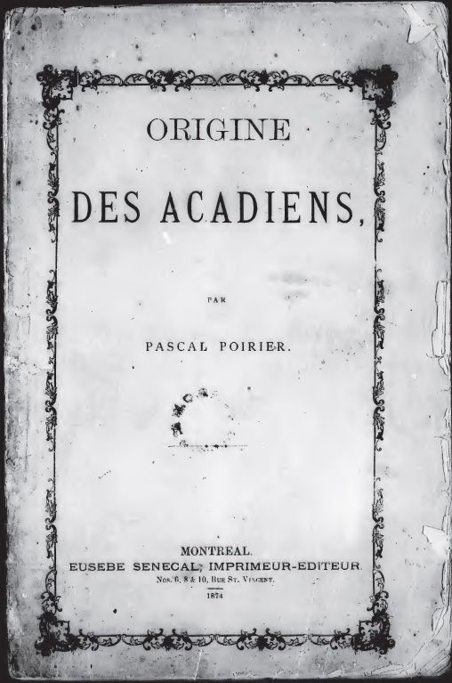 Origine des Acadiens