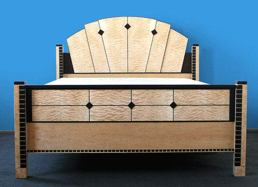 art bedroom furniture. keystone art deco bed by joel liebman furniture bedroom