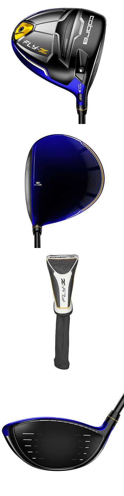 Golf Clubs 115280: New Cobra Golf Fly-Z Adjustable (9°-12°) Strong Blue Driver Regular Flex BUY IT NOW ONLY: $154.99