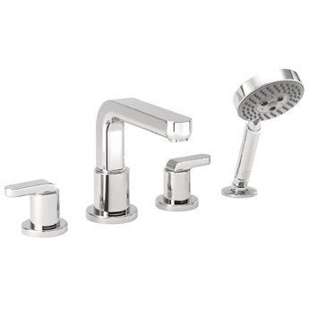 Hansgrohe 31448821 Brushed Nickel Metris S Roman Tub Filler Faucet with Diverter $648