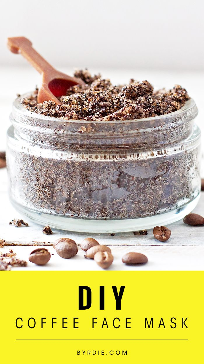 The best #DIY coffee mask for awakened, revived, and rejuvenated skin