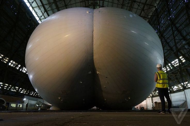 Airlander 10: up close with the gigantic airship the US Army wanted | The Verge