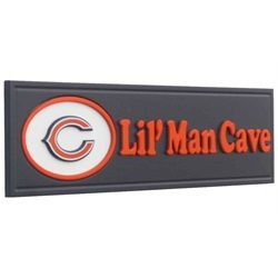 Chicago Bears Lil' Man Cave Wooden Sign