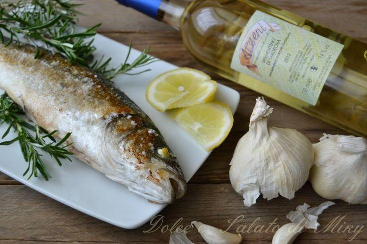 Ricetta branzino al vino bianco | Dolce e Salato di Miky