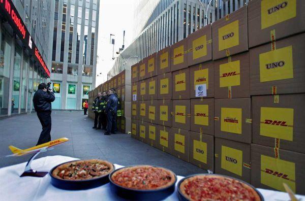 30000 – La plus importante livraison de pizza au monde