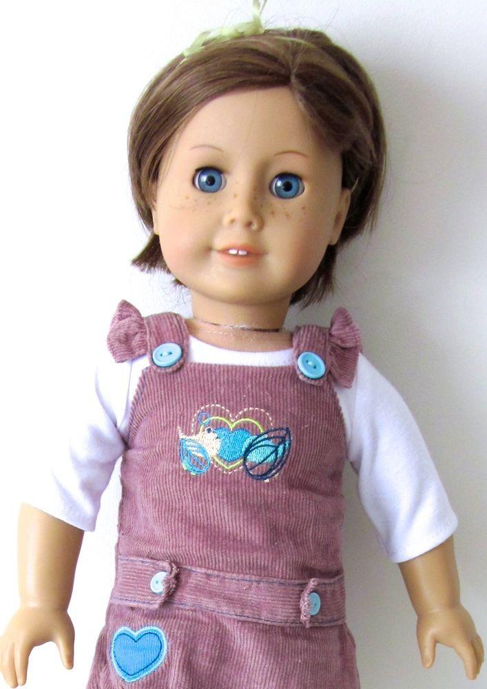 American Girl Doll Blue Eyes Golden Brown Hair Just Like ...